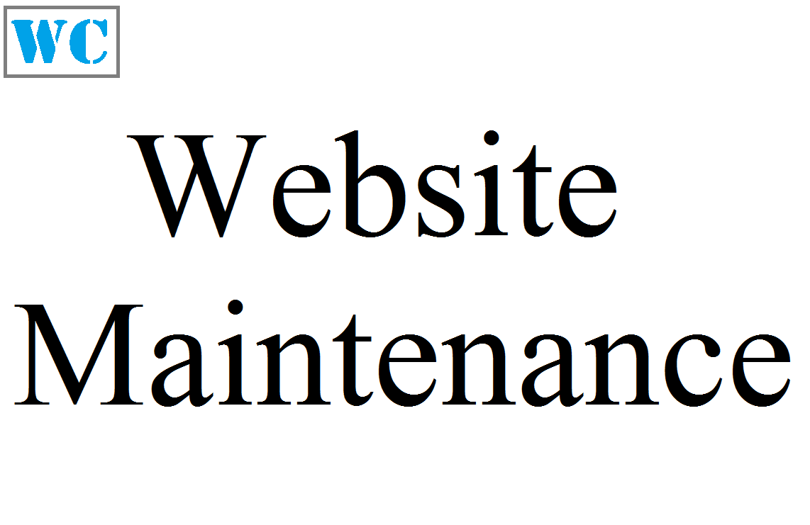 Website maintenance by WebbCo